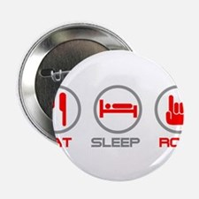 "Eat Sleep Rock 2.25"" Button (100 pack)"