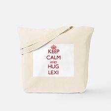 Keep Calm and Hug Lexi Tote Bag
