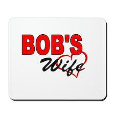 BOB'S WIFE Mousepad