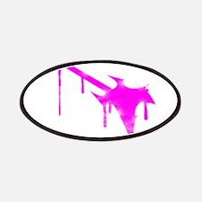 Graffiti Pink Guitar Patches