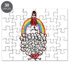 Rainbow Girl Puzzle