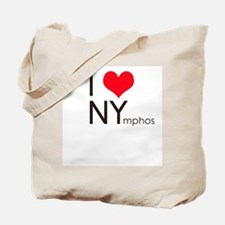I heart NYmphos Tote Bag