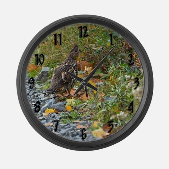 Partridge 2 Large Wall Clock