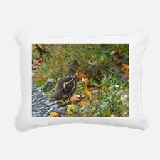 Partridge 2 Rectangular Canvas Pillow