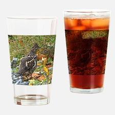 Partridge 2 Drinking Glass