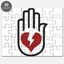 Hand On Heart Puzzle
