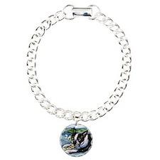 Boston Terrier butterfly Bracelet