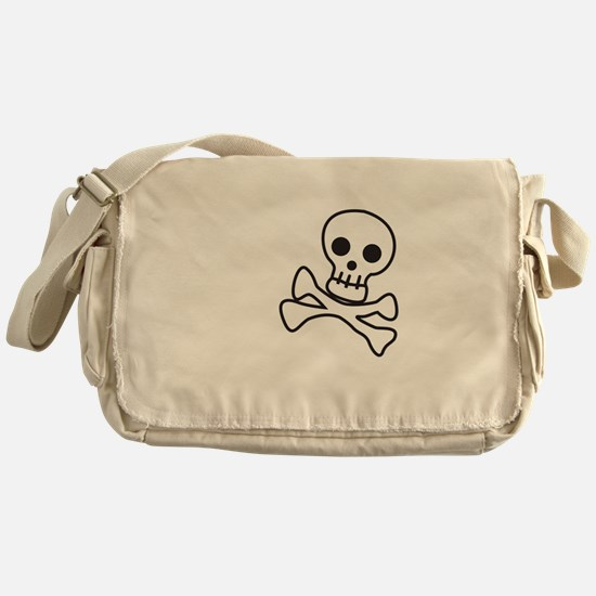Cute Skull Messenger Bag