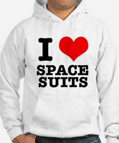 I Heart (Love) Space Suits Hoodie