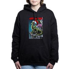 Christmas Dragon Hooded Sweatshirt