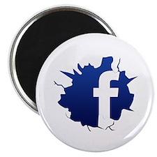 "Cute Facebook 2.25"" Magnet (10 pack)"