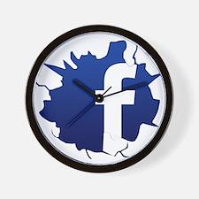 Cute Humor myspace Wall Clock
