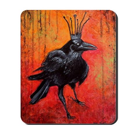 Darlington, The Raven King Mousepad