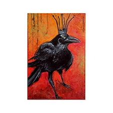 Darlington, The Raven King Rectangle Magnet