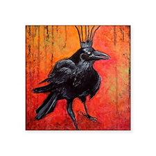 "Darlington, The Raven King Square Sticker 3"" x 3"""