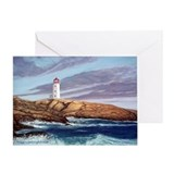 Peggys cove Greeting Cards