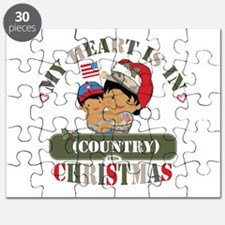 Christmas Soldier Mom Puzzle
