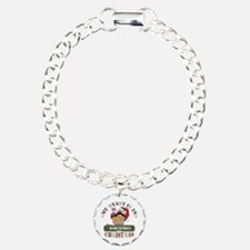 Christmas Soldier Mom Charm Bracelet, One Charm