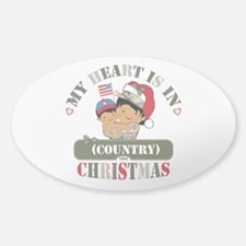 Christmas Soldier Mom Decal