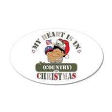 Christmas Soldier Mom Wall Decal