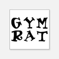 gym rat Sticker