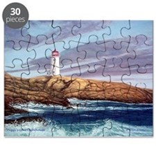 Peggy's Cove Lighthouse Puzzle