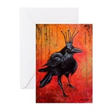 The Raven King Darlington Greeting Cards