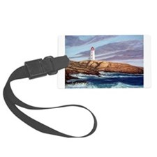 Peggy's Cove Lighthouse Luggage Tag