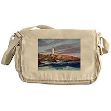Peggy's Cove Lighthouse Messenger Bag