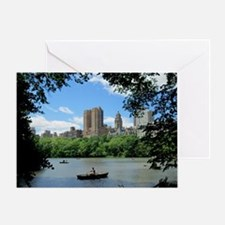 NYC view from Central Park Greeting Card
