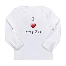 ILoveMyZia.bmp Long Sleeve T-Shirt