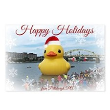 Holiday Duck Postcards (Package of 8)