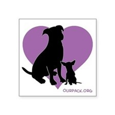 Pit Bull Chihuahua Sticker