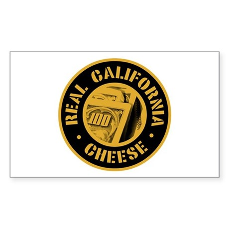 Real California Cheese Rectangle Sticker