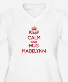 Keep Calm and Hug Madelynn Plus Size T-Shirt