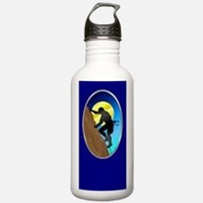 Rock Climber Necktie Water Bottle