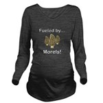 Fueled by Morels Long Sleeve Maternity T-Shirt