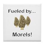 Fueled by Morels Tile Coaster