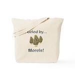 Fueled by Morels Tote Bag