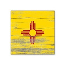 """New Mexico Old Paint Square Sticker 3"""" x 3"""""""