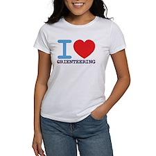 Women's I Love Orienteering T-Shirt