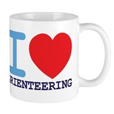 I Love Orienteering Mugs