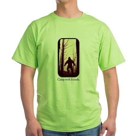 Camp with Bigfoo T-Shirt