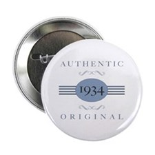 "1934 Authentic Original 2.25"" Button (100 pack)"