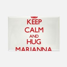 Keep Calm and Hug Marianna Magnets