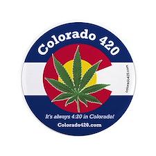 """Colorado 420 3.5"""" Button"""