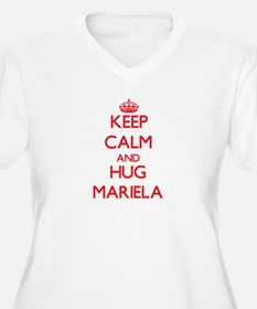 Keep Calm and Hug Mariela Plus Size T-Shirt