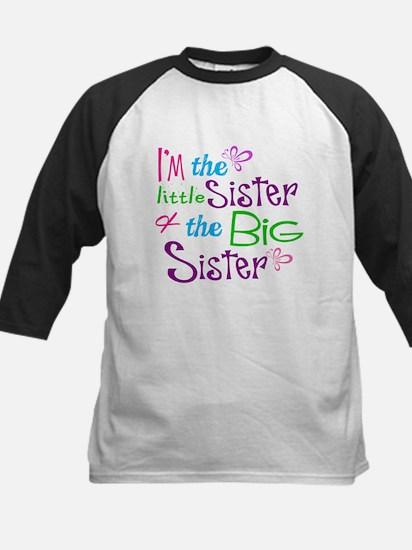 Im a little big sister Baseball Jersey