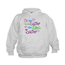 Im a little big sister Hoodie