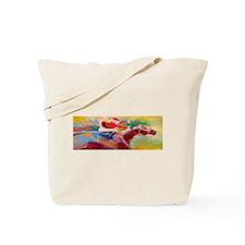 Derby Santa Tote Bag